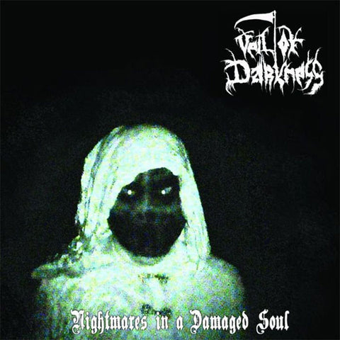 Veil Of Darkness ‎– 'Nightmares In A Damaged Soul' CD