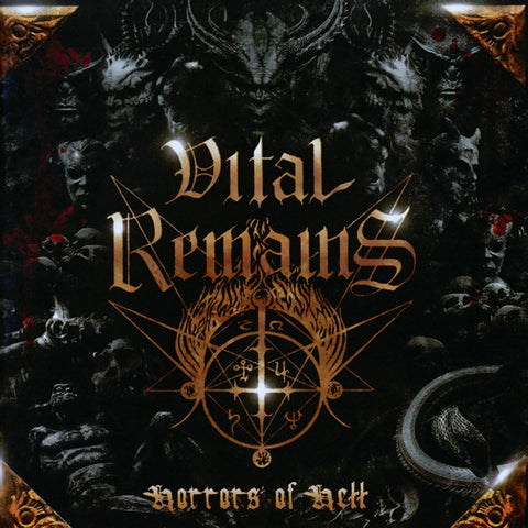 Vital Remains - Horrors of Hell CD