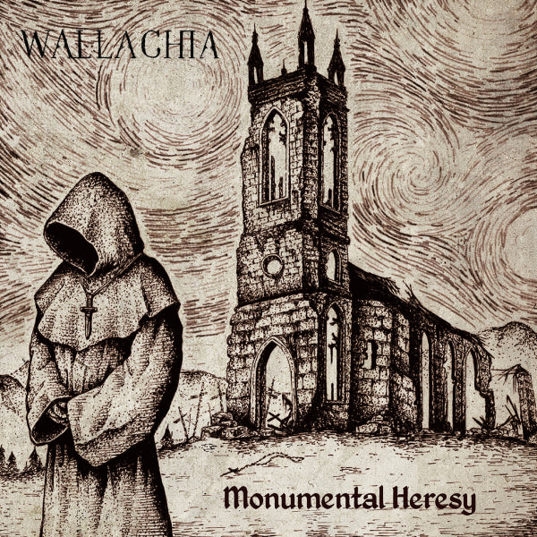 Wallachia ‎– Monumental Heresy CD