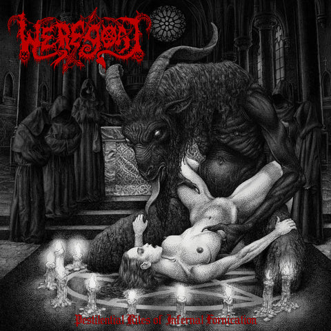 Weregoat ‎– Pestilential Rites Of Infernal Fornication LP