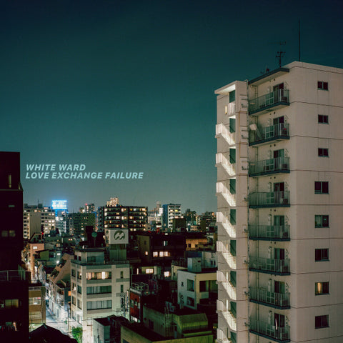 White Ward ‎– Love Exchange Failure 2LP (Electric Blue with Aqua Marine Smoke Vinyl)
