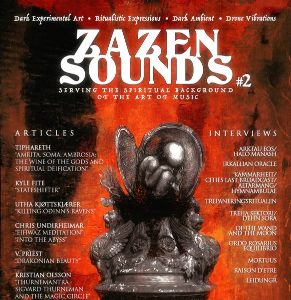 Zazen Sounds Esoteric Publication Issue 2 Zine