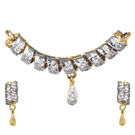 Fayon Ethnic Jewellery Silver Elegant Mangalsutra