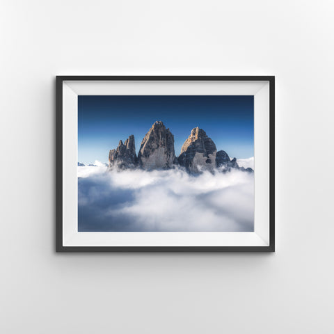 Sea of Clouds - Dolomites