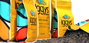 WELCOME TO IGGYS BESPOKE COFFEE