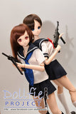 """Sailor school uniform and Machine gun"" 2016 version set"