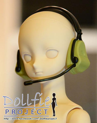 Military style headphone