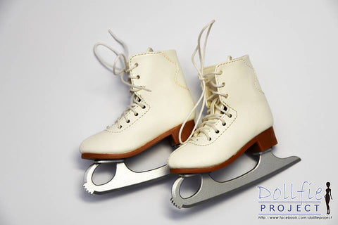 Ice Skate Boots for Dollfie (2 colours)