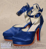 High heels with buckle (4 colours)