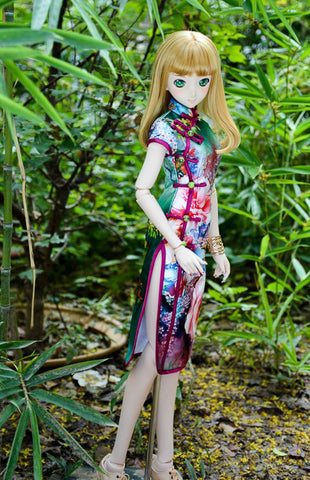 POS Vivid Colour Qipao
