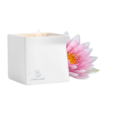 JimmyJane Afterglow Massage Candle Oil Pink Lotus