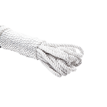 Bondage - La Vie Nue Silky Touch Braided Rope White