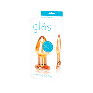 Glas Over Easy Glass Butt Plug Box