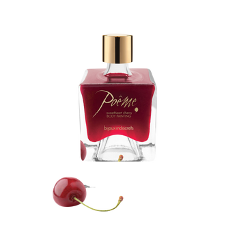 Bijoux Indiscrets Poeme Sweetheart Cherry (50ml) bottle