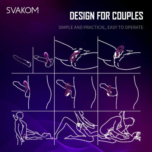 how to use SVAKOM Tammy Vibrating Ring