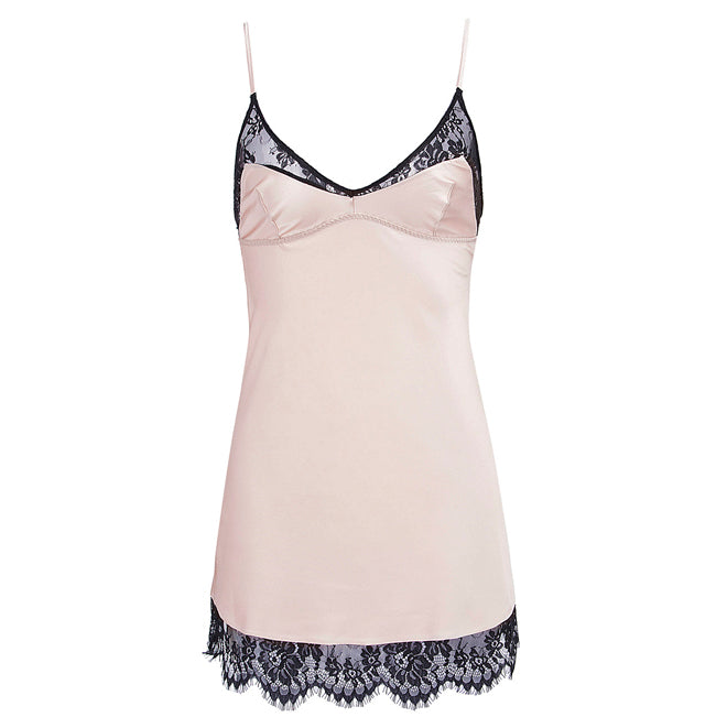 Lets Play - Elegant Slip with Lace Detail