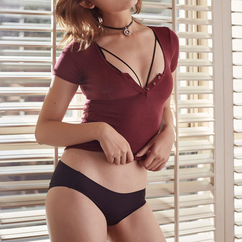 Lazy Sundays - Seamless Bralette and Panty Set
