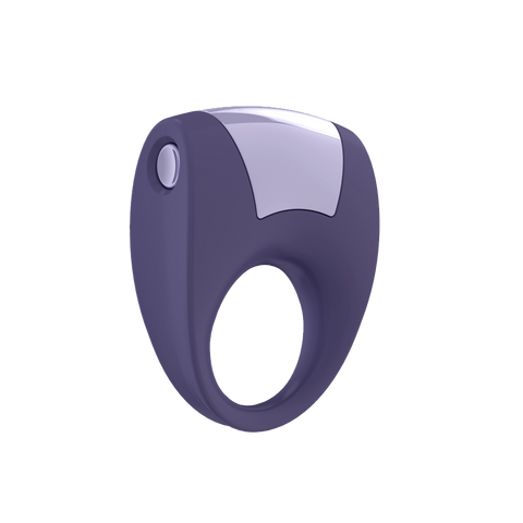 Vibrating Silicone Cock Ring:  OVO B8