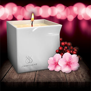 Afterglow Massage Candle: Berry Blossom