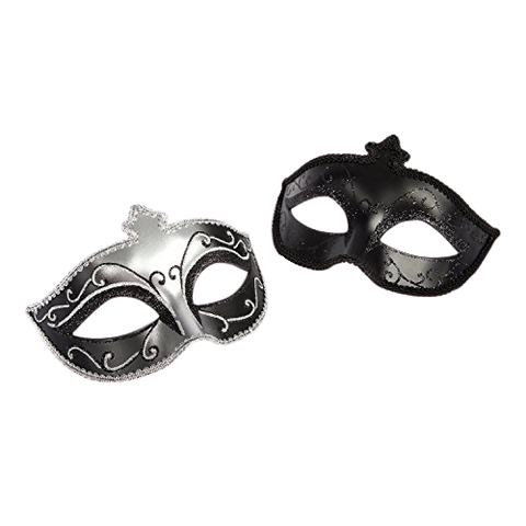 Masquerade Mask Twin Pack fifty shades of grey