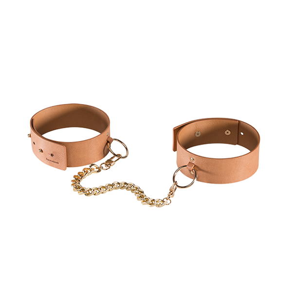 Ankle & Knee Cuffs: Maze Brown