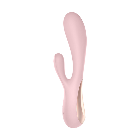 App-Controlled Rabbit Vibrator for Clitoris and G-Spot:Mono Flex