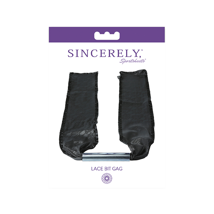 Lace Bit Gag: SINCERELY
