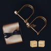 Gold Dice Cuff eye mask set Singapore