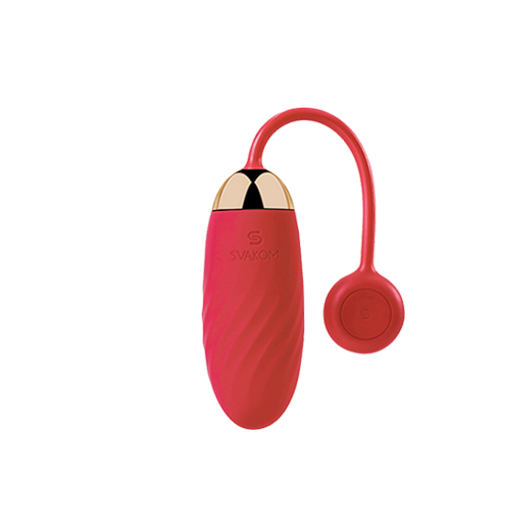 Mobile-controlled Wearable Bluetooth Vaginal Vibrating Bullet Egg with App: SVAKOM ELLA