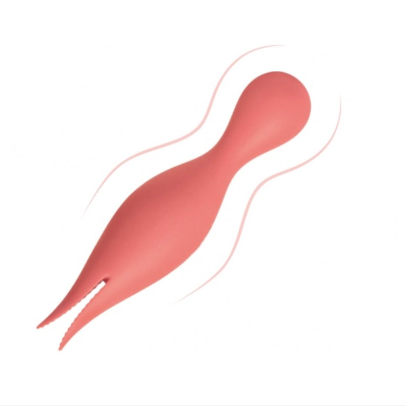 Intense Double Tongued Vibrator for Clitoris and G-Spot: SVAKOM Siren
