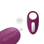 Wearable Remote Control Clitoris Stimulating Vibrating Penis Ring: SVAKOM Winni