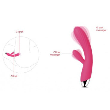 Intelligent Warming  rabbit Vibrator SVAKOM Angel