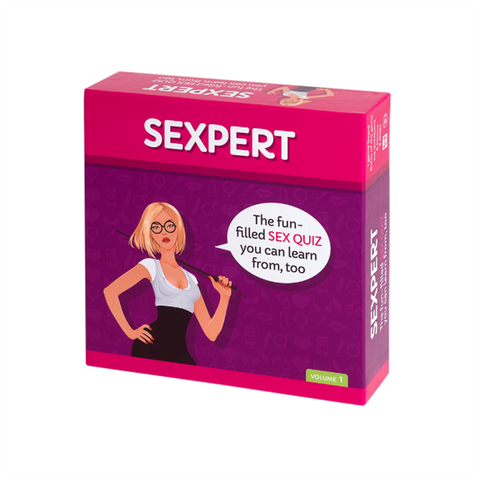Sexpert Hen Party Game Box
