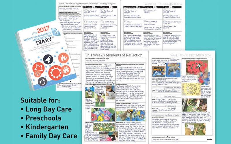 example of the Weekly Programming and Reflection Diary - Butler Creative Childcare Resources