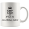 Keep Calm and Trust the Educational Leader Mug - Butler Creative Childcare Resources