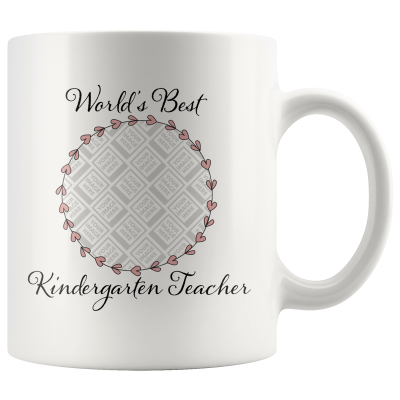 World's Best Kindergarten Teacher Hearts - Butler Creative Childcare Resources