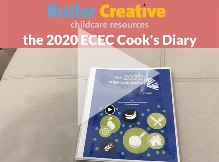 2020 Early Childhood Cook's Diary - Butler Creative Childcare Resources