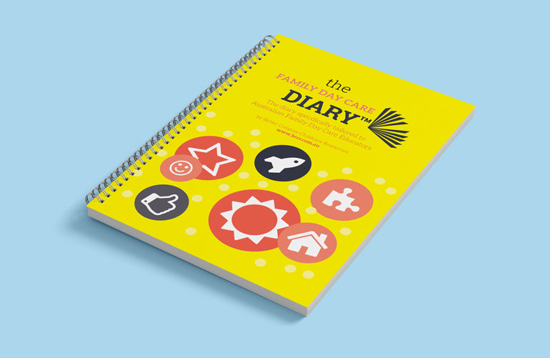 PREORDER 2021 Family Day Care Diary - Butler Creative Childcare Resources