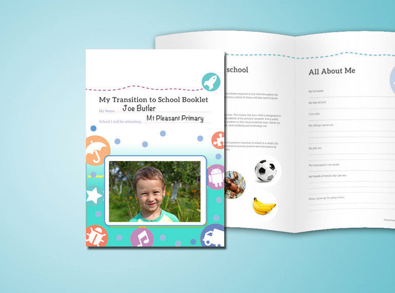 Daycare Transition to School Booklet - Butler Creative Childcare Resources