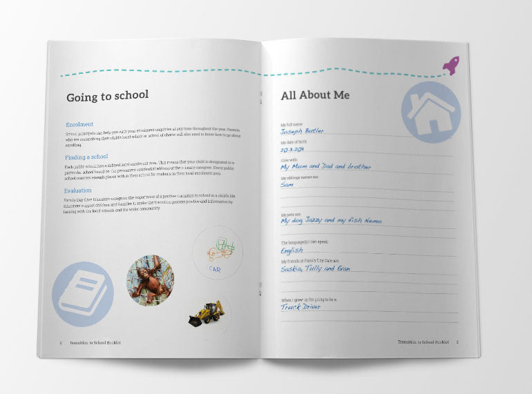 Family Day Care Transition to School Booklet - Butler Creative Childcare Resources