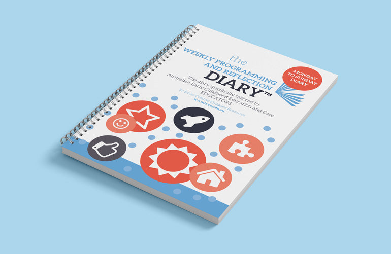 2021 (7 DAY) Weekly Programming and Reflection Diary (Calendar Year) - Butler Creative Childcare Resources