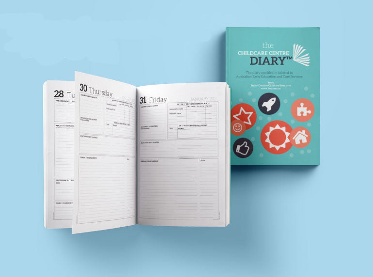 2021 The Childcare Centre Diary - Butler Creative Childcare Resources