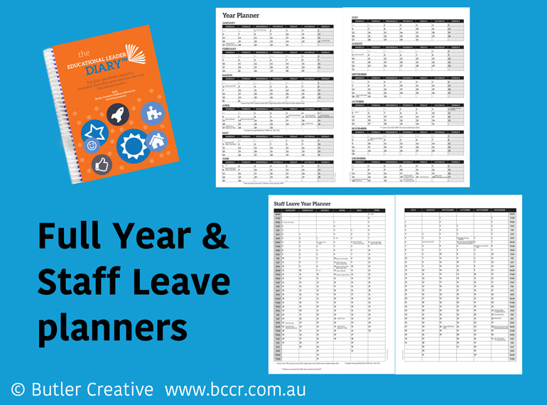 2021 New Zealand Educational Leader Diary - Butler Creative Childcare Resources