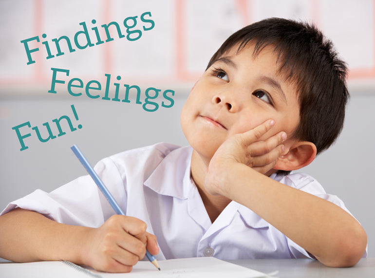 Findings, Feelings, Fun! School Aged Journal for Children - Butler Creative Childcare Resources