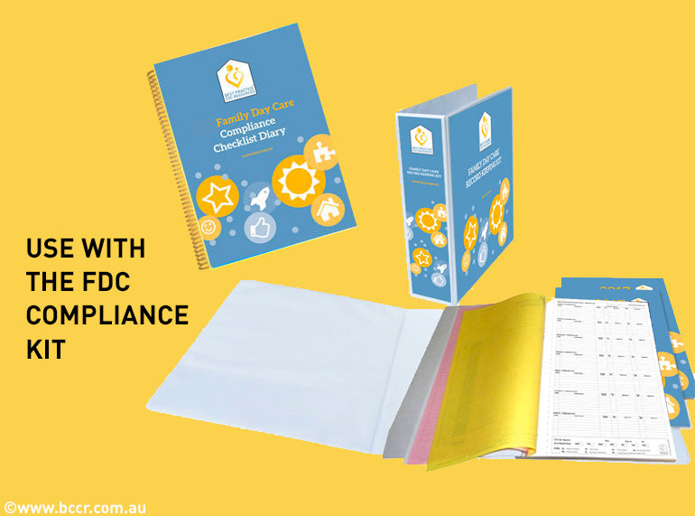 2021 FDC Compliance Checklist Diary - Butler Creative Childcare Resources