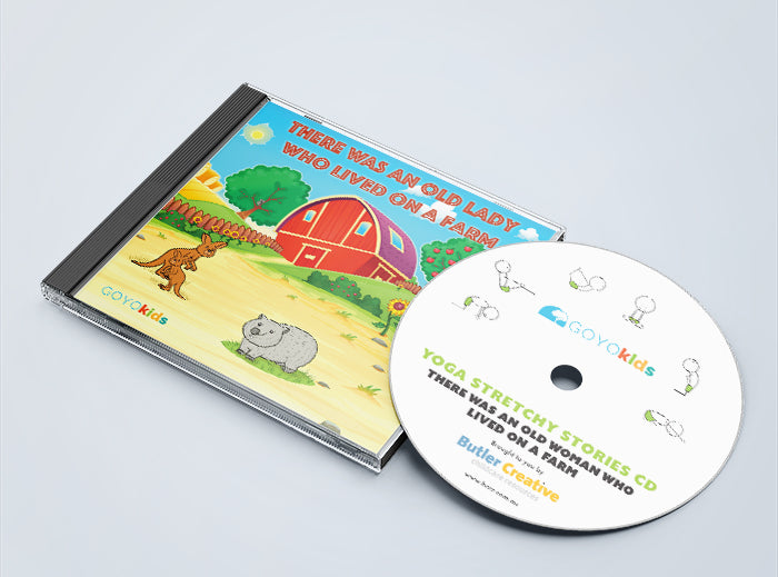 Yoga stories CDs - 5 Stretchy Story CDs Bundle - Butler Creative Childcare Resources