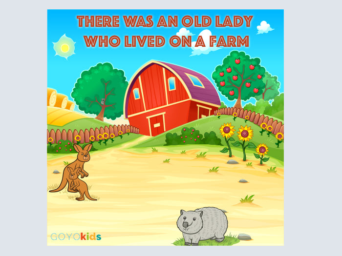 Yoga story CD - There Was an Old Lady Who Lived on a Farm - Butler Creative Childcare Resources