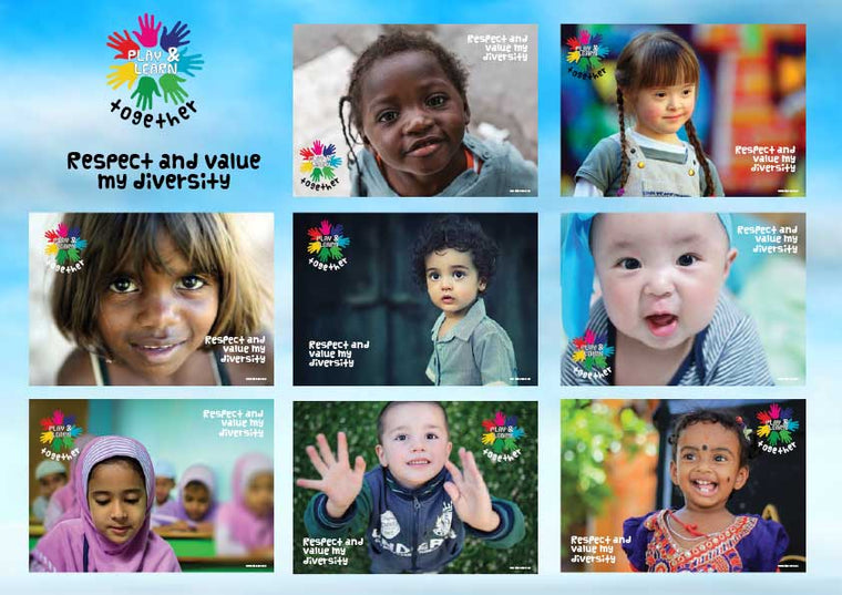 Diversity Posters - Butler Creative Childcare Resources