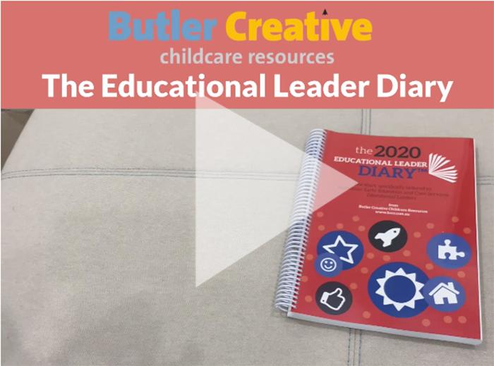 2020 Educational Leader Diary - Butler Creative Childcare Resources