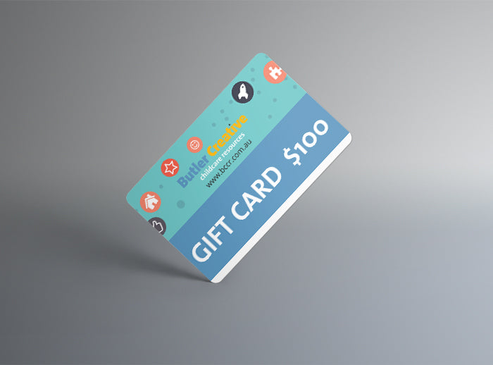 Butler Creative Childcare Resources Gift Card $100  Image